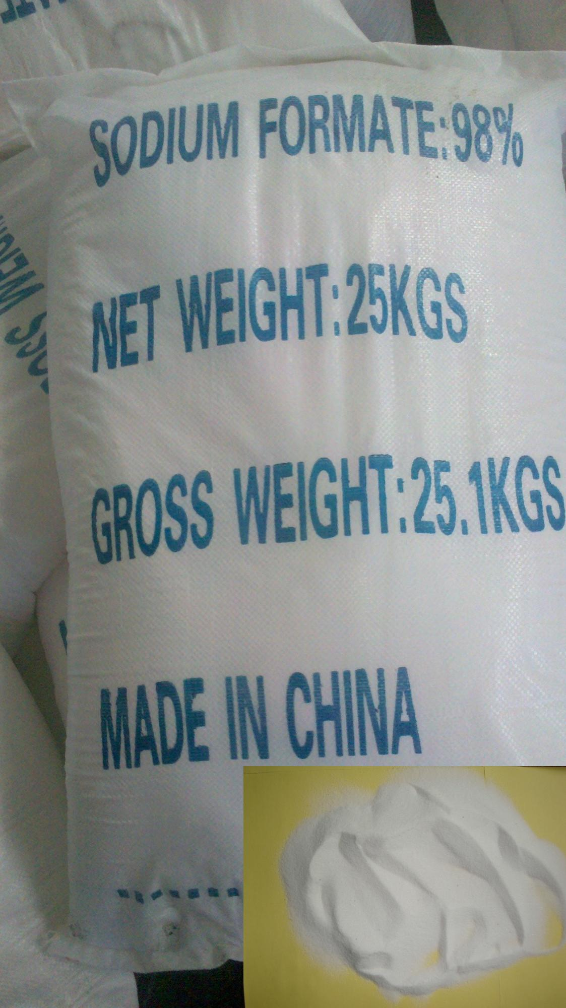 white powder sodium formate